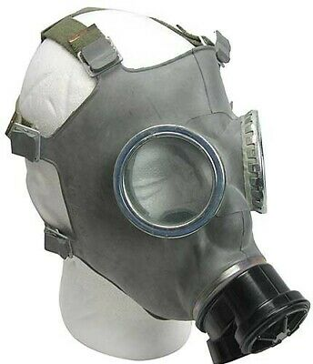 Authentic Polish MC-1 Military 40 mm Gas Mask/Respirator Emergency Gear NEW