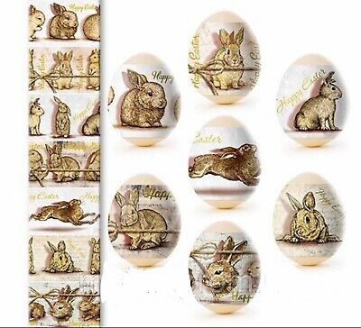 Easter Bunnies, Easter Egg Shrinking Wraps