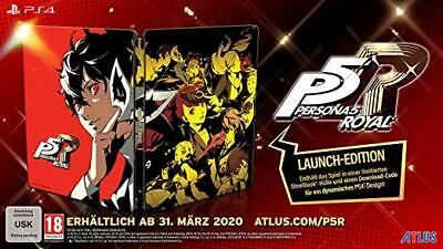 Persona 5: Royal Launch Limited Edition Steelbook (PS4)
