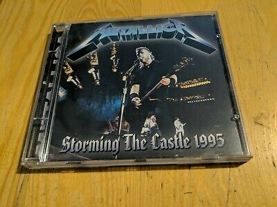 PLAYED once CD METALLICA STORMING THE CASTLE 1995