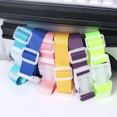 Luggage Suitcase Bag Hanger Buckle Portable Travel Hang Belt Anti-lost Clip