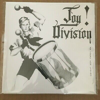 "JOY DIVISION ""Ideal for living"" 7"" Vinyl EP colored vinyl w poster cover SEALED"
