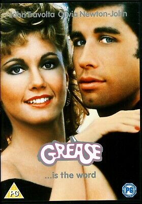 Grease John Travolta Olivia Newton John.region 2 Dvd.free Uk P&P