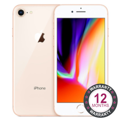 Apple iPhone 8 64GB Unlocked Sim Free Gold Smartphone Mobile Phone