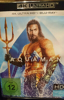 AQUAMAN -  4K UHD + Bluray