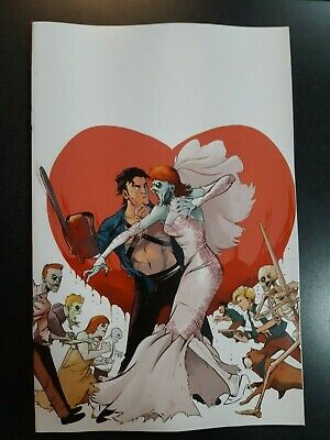DEATH TO ARMY OF DARKNESS #1 1:20 Piriz Virgin Variant Dynamite Comic Book