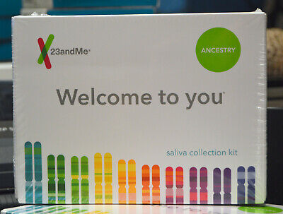 23andMe DNA Test Ancestry Personal Genetic Service With Prepaid Saliva Kit