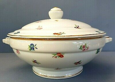 Large Antique Art Deco Period French Limoges D.r.b Large Tureen