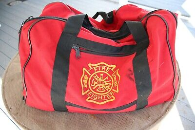 Four Firefighter Turnout Gear Bags