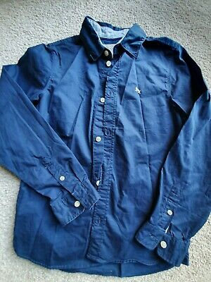 Boys Blue Long Sleeved Smart H&M Shirt 9-10 Years, worn once