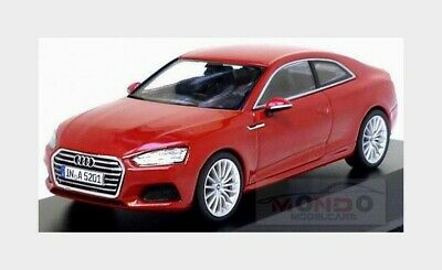 Audi A5 Coupe 2016 Tango Red SPARK 1:43 5011605432 Miniature