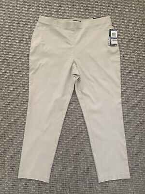 NWT Style&Co. Ankle Pants Comfort Waist Stonewall Medium $48.
