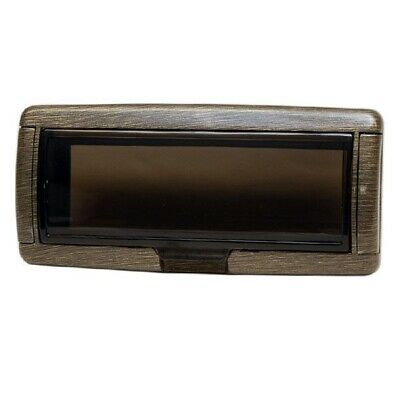 Quality Models Brushed Champagne Boat Stereo Housing
