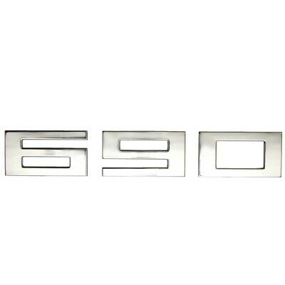 Striper Boat Raised Decal 8626-3345Silver Mirror 37 1//4 x 2 3//8 Inch
