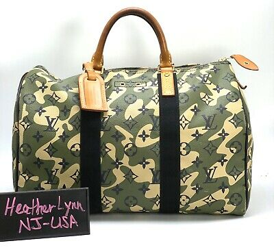 Authentic Louis Vuitton Ltd Ed Murakami Monogramouflage Speedy 35 A MUST HAVE!
