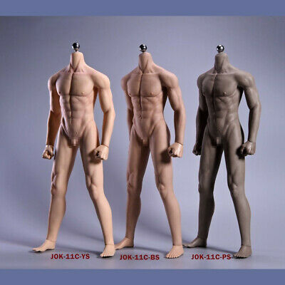 """JIAOU DOLL 1/6 Seamless Male Body Doll Man Action Figure fit 12"""" Phicen Hot Toys"""