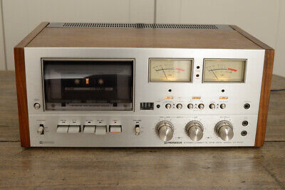 Pioneer CT F9191 Stereo Cassette Deck. High Quality Vintage Tape Deck. VU Meters