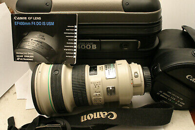 Canon 400mm F4 DO IS USM lens. Canon EF fit