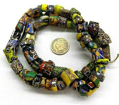 Antique Venetian Trade Beads  Mix   African Trading      W5  1771 african