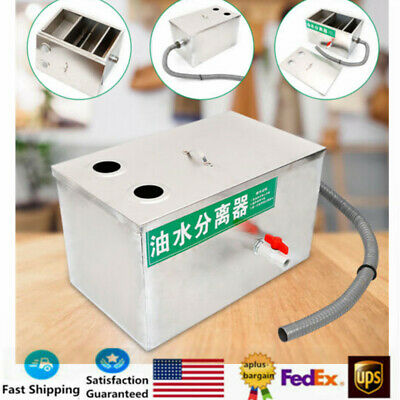 Grease Trap Interceptor Oil Water Separator Grease Traps Stainless Steel SALE