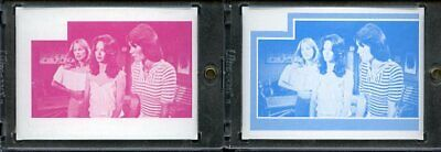 1977 Topps Charlies Angels Color Separation Proof Cards. #247