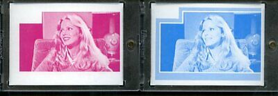 1977 Topps Charlies Angels Color Separation Proof Cards. #208