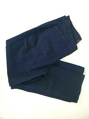 Chic Classic Collection Womens Easy Fit Elastic Waist Pant 2 Pairs Sz 14 Petite