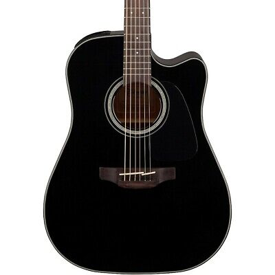 Takamine G Series GD30CE Dreadnought Cutaway Acoustic-Electric Guitar Gloss Blk