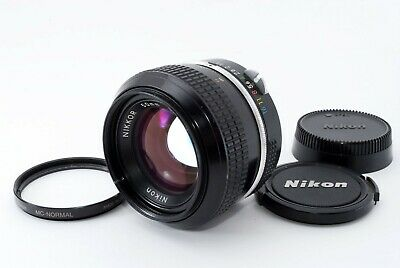 """Near Mint"" Nikon New Nikkor 50mm F/1.4 Non Ai MF Lens w/ Filter From japan 4120"