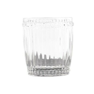 Olympia Baroque Whiskey Glasses Clear 325ml (Pack of 6)