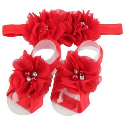 High Quality Photography Fashionable Baby Infant Beautiful Headband Foot Flower