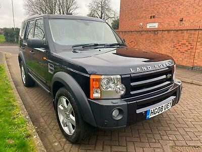 2008 Land Rover Discovery 3 2.7TD V6 auto HSE full service and mot 7 seater