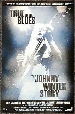 Johnny Winter Cool 8x10 Promo Live Band Photo #3