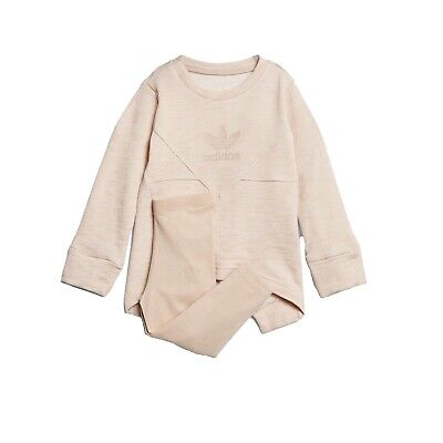 Adidas Originals Infant Baby Girls Tracksuit Outfit Set 2-3 years