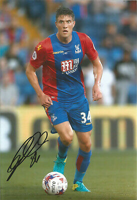 Martin Kelly Crystal Palace 12x8 hand signed authentic football photo SS092