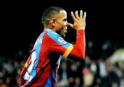 Jason Puncheon Crystal Palace 12x8 hand signed authentic football photo SS099