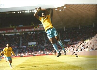 Yannick Bolasie Crystal Palace 10x8 hand signed authentic football photo SS104