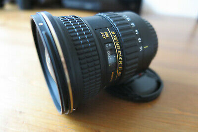 Tokina AT-X 11-16mm PRO DX II F/2.8 Lens. Canon Fit. Excellent condition.