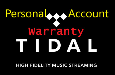 TIDAL HiFi🔥 Sound Quality🔥Personal Account✅ 2 Months GUARANTEED✅