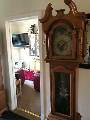 reproduction grandfather clocks, inherited 3 of these,
