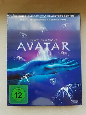 AVATAR * 3-Disc Extended Blu-Ray Collectors Edition im Schuber