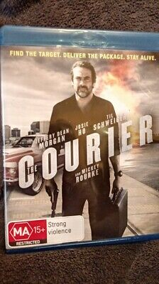 The Courier - Blu-ray, Region B  NEW/UNSEALED  FREE POSTAGE