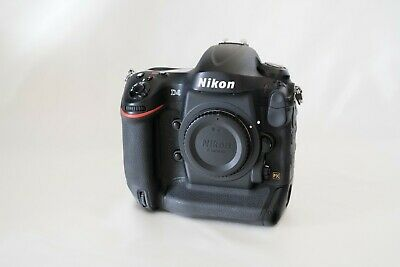 Nikon D4 16.2MP Digital SLR Camera - Black (Body Only) - 58K Shutter count