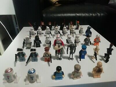 Lego star wars figuren sammlung