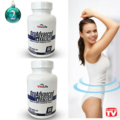 2 OXY ADVANCED Thermogenic Fat Burner - Weight Loss Supplement- Phen 375 - PhenQ