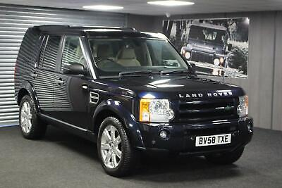 2008 58 Land Rover Discovery 3 HSE 2.7TDV6 auto 2008.5MY 7 Seater - FSH + 2 Keys