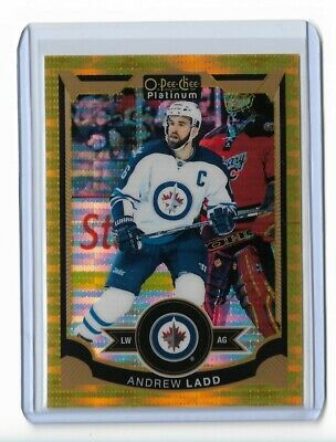 2015-16 O-Pee-Chee Platinum Seismic Gold #82 Andrew Ladd /50 Jets
