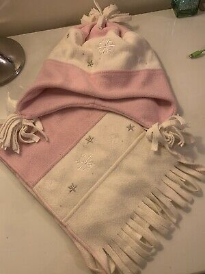 Girls Hat And Scarf Set Age 7-10