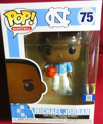 Michael Jordan, North Carolina Warm-Ups, Brand New Funko Pop Basketball