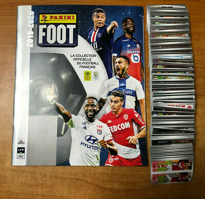 Lot De 274 Stickers Differents Panini Foot 2019 2020